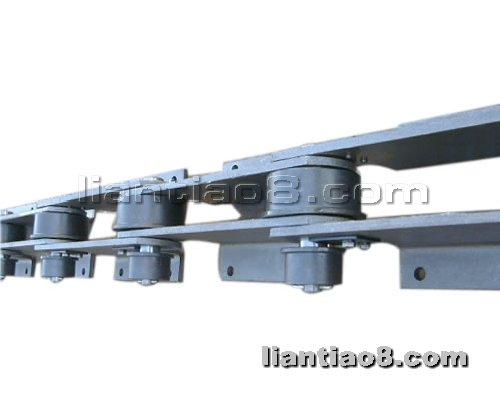 链条吧提供生产大滚子弯板链条厂家